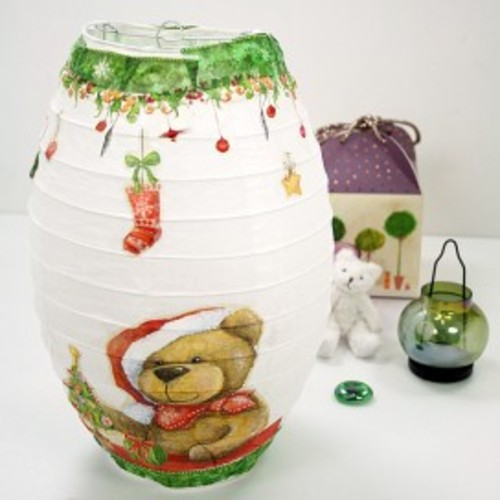 [반제품]크리스마스초롱등만들기(10set)