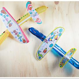 탑키드 풍선 비행기(10set)