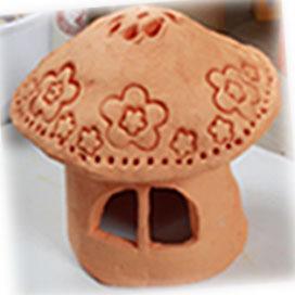 탑키드 [도예토]버섯 촛대 만들기
