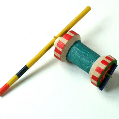 탑키드 [반제품]나무굴렁쇠