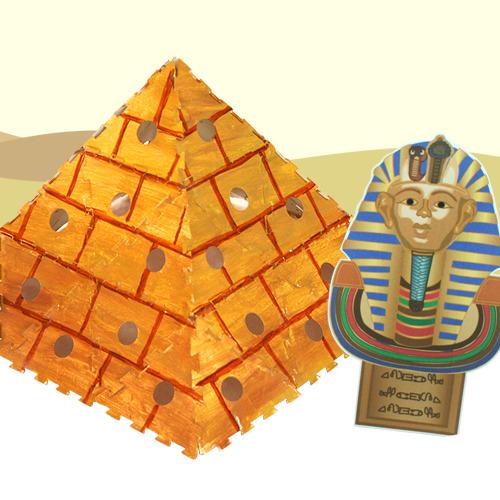 [탑키드]종이퍼즐 피라미드 만들기(5set)